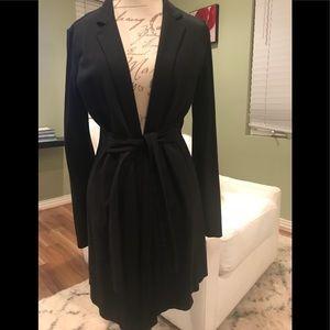 Eileen Fisher wrap jacket - black (Size S)